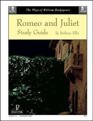 Romeo and Juliet Progeny Press Study Guide   -     By: Bethine Ellie