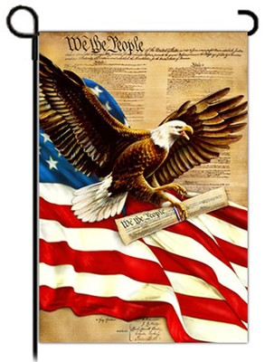 Freedom Eagle Flag, Small  -