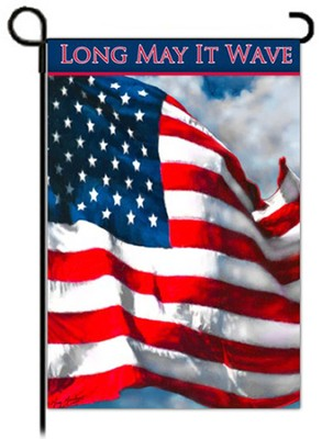 Long May It Wave Flag, Small  -