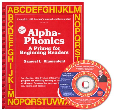 Alpha-Phonics: A Primer for Beginning Readers with CD-ROM  (Windows Only)  -     By: Samuel L. Blumenfeld