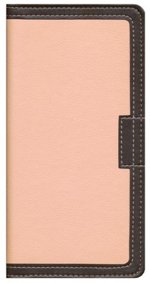 NIV Italian Duo-Tone, Pink & Chocolate, Bible Clutch  1984  -
