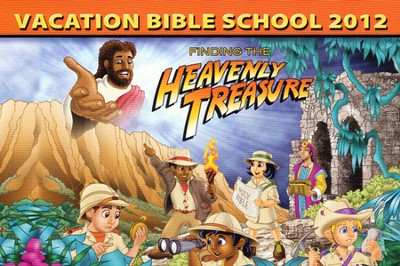 Heavenly Treasure VBS Post Card, Package of 50  -