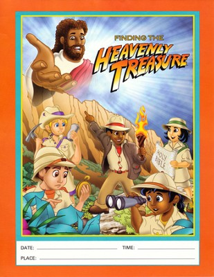 Heavenly Treasure VBS Flyers, Package of 50  -