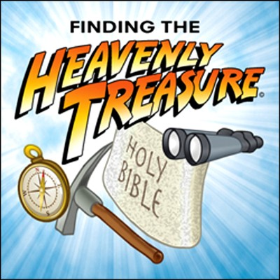 Heavenly Treasure VBS Button  -