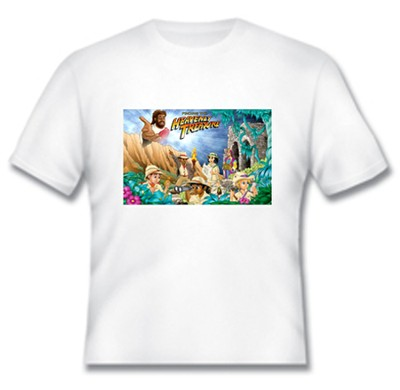 Heavenly Treasure Youth White T-shirt, Large  -