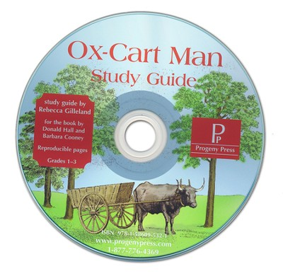 OxCart Man Study Guide on CDROM  -