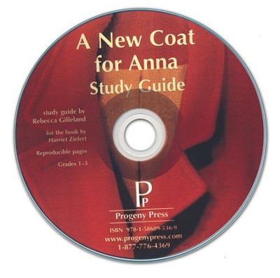 New Coat for Anna Study Guide on CDROM  -