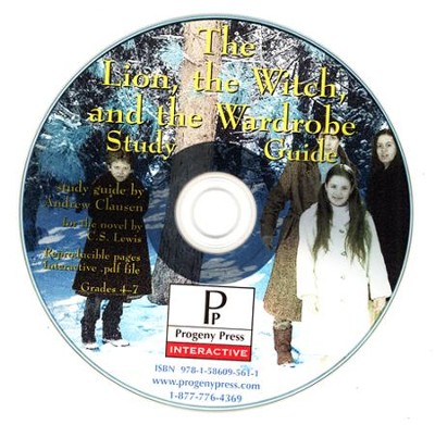 Lion, the Witch and the Wardrobe Study Guide on CDROM  -