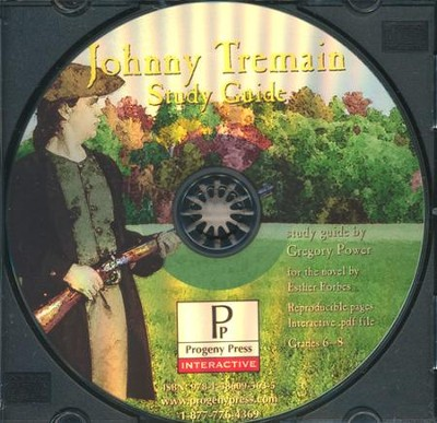 Johnny Tremain Study Guide on CDROM  -