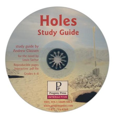 Holes Study Guide on CDROM  -