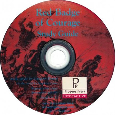 Red Badge of Courage Study Guide on CDROM  -