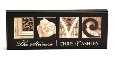 Personalized, Love Mini Plaque   -