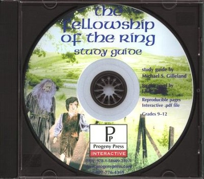 Lord of the Rings: The Fellowship of the Ring Study Guide on CDROM  -