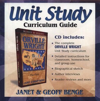 Heroes of History Unit Study: Orville Wright  -