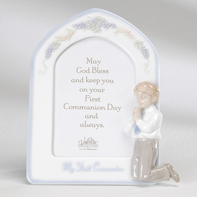 My First Communion Photo Frame, Boy  -