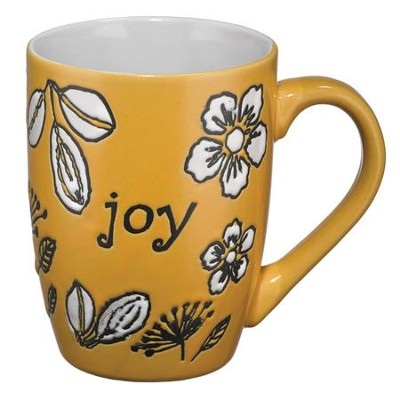 Joy Mug, Yellow  -
