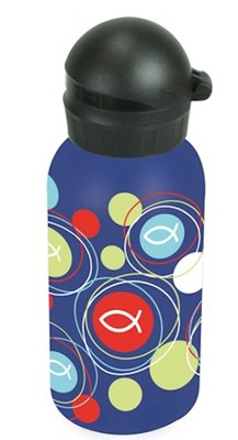 Fish, Stainless Steel Water Bottle  -
