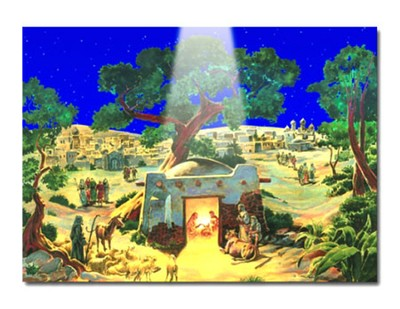 Nativity Scene Advent Calendar  -