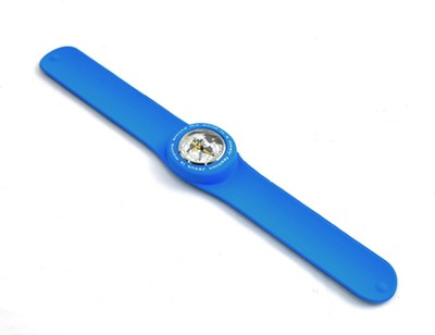 Silicone Watch, Jesus Is Moving Around the World, Blue  -