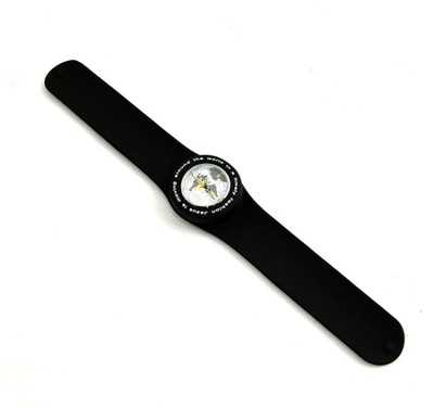 Silicone Watch, Jesus Is Moving Around the World, Black  -
