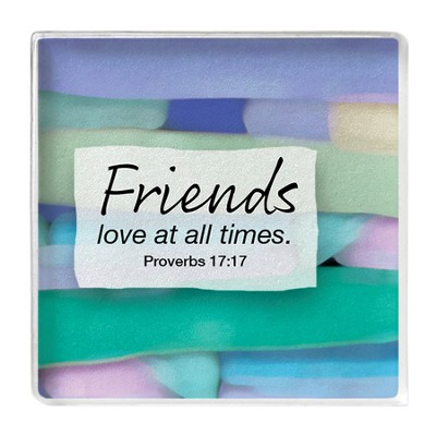 Friends Love At All Times Magnet  -