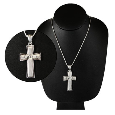 Faith Cross Necklace  -