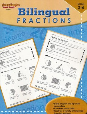 Steck-Vaughn Bilingual: Fractions  -