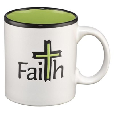 Faith Cross Mug  -