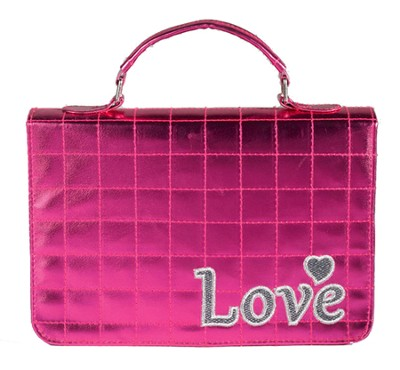 Love Quilted Bible Cover  -