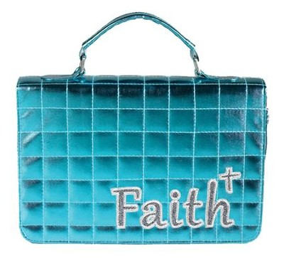 Faith Quilted Bible Cover  -