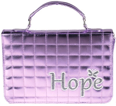 Hope Quilted Bible Cover  -
