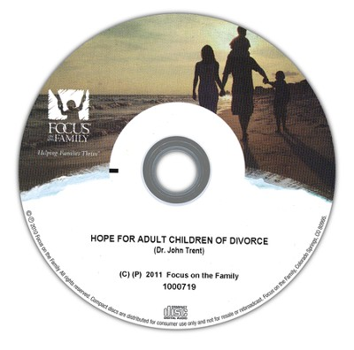 Hope For Adult Children of Divorce I-II   -     By: Dr. John Trent