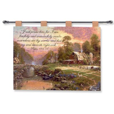 Sunset at Riverbend Farm  -     By: Thomas Kinkade