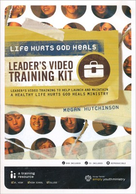Simply Youth Ministry: Life Hurts, God Heals Training Kit DVD & CD-ROM  -     By: Megan Hutchinson