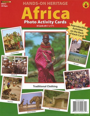 Africa Photo Activity Cards  -