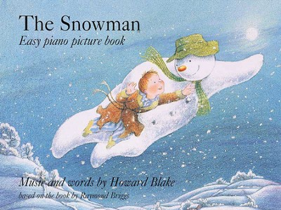 The Snowman: Easy Piano Picture Book  -     By: Howard Blake