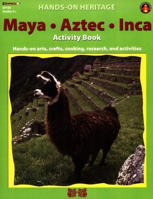 Hands-On Heritage Maya, Aztec, Inca Activity Book   -