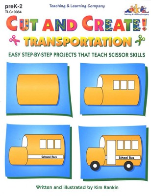 Cut and Create! Transportation   -