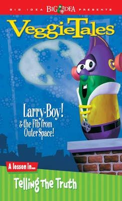 Larryboy and the Fib from Outer Space, VeggieTales DVD   -