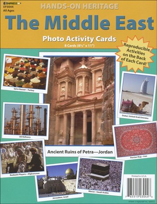 Middle East Photo Activity Cards  -