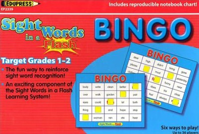 Sight Words Bingo, Gr. 1-2  -