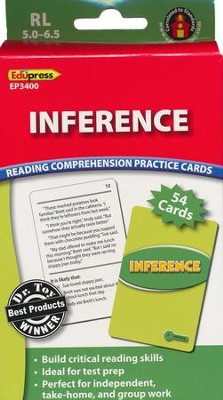 Inference Reading Comprehension Practice Cards - Green 5.0-6.5  -