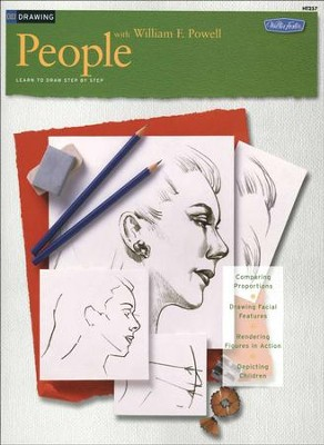 Drawing: People With William F. Powell  -
