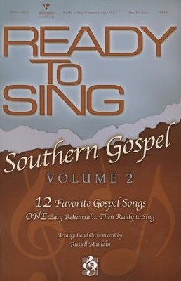 Ready to Sing Southern Gospel, Volume 2 (Choral Book)   -
