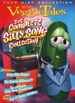 The Complete Silly Song Collection: VeggieTales--DVD   -
