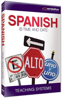 Spanish Module 7: Time and Date DVD  -