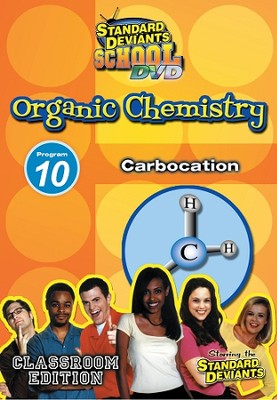 Standard Deviants School Organic Chemistry Module 10:  Carbocation DVD  -