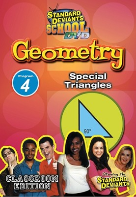 Standard Deviants School Geometry Module 4: Special Triangles DVD   -