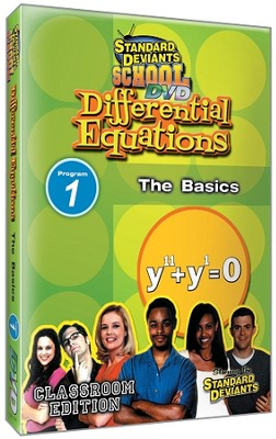 Differential Equations Module 1: The Basics DVD  -