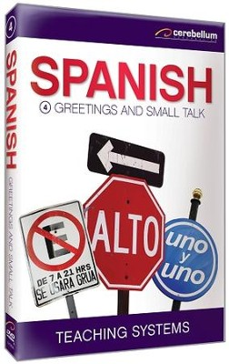 Spanish Module 4: Greetings and Small Talk DVD  -